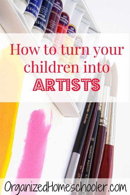 Raising artists can be a lot of fun. I can't wait to implement this in my own home!