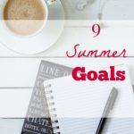 2016 Summer Goals
