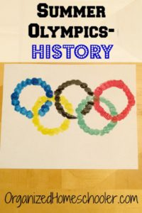 Celebrate the Summer Olympics with a round of Greek god memory and fun crafts!