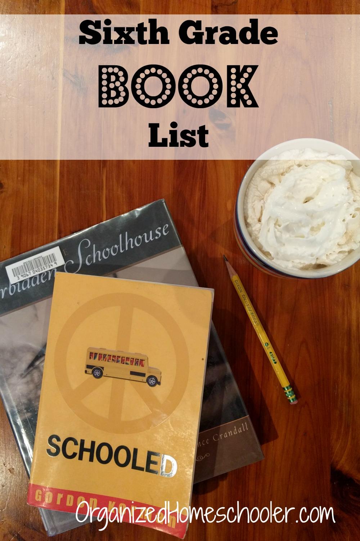Sixth Grade Reading List