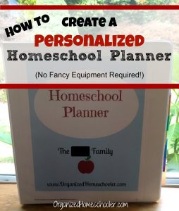 Creating your own homeschool planner is easier than you think! You do not need to buy an expensive homeschool planner when you can make your own cheap homeschool planner.