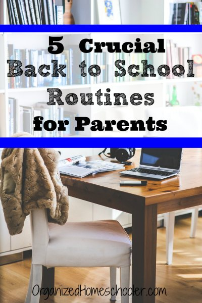 These tips make it easy to set up back to school routines for parents. Kids are not the only ones that need help getting back to school!