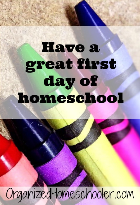 The first day of homeschool is so EXCITING, but it is also EXHAUSTING! These tips will help you have a smooth first day.