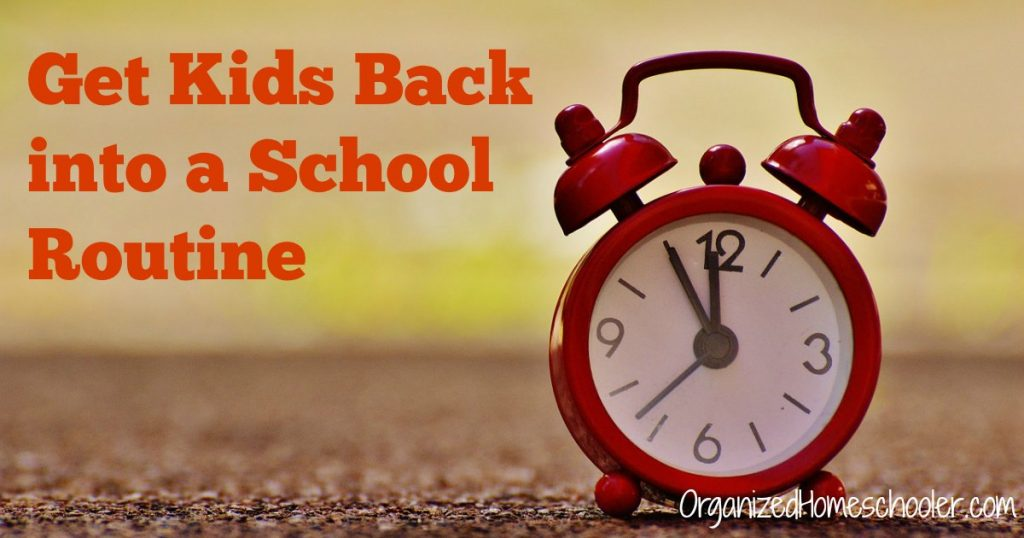 Get kids ready for back to school with these tips. Start early!
