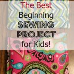 Teaching kids to sew is such a great idea! This cold/hot pack project looks pretty easy for a beginning sewing project. I can't wait to start sewing with my kids!