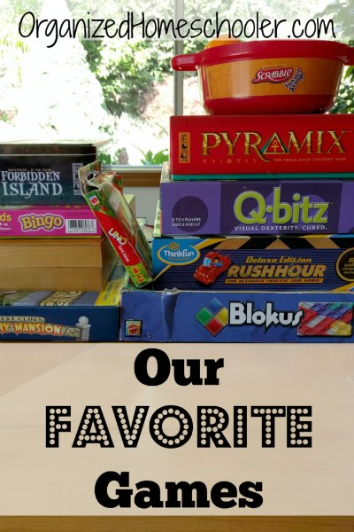 Board games are a fantastic teaching tool! I like to use games in my homeschool classroom. It is a fun way to bring the kids to the table.