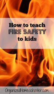 How do you teach fire safety without scaring kids?