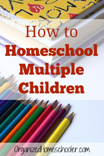 This is so helpful for homeschooling multiple children! It just takes a bit of planning and a good schedule!