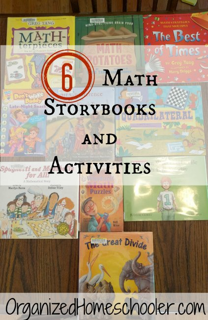 I love using storybooks to teach math. National Math Storytelling Day is coming up!