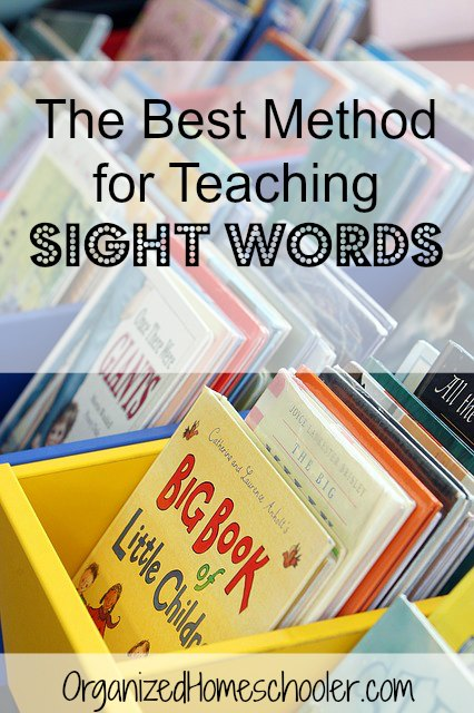 Wondering the best way to teach sight words? This technique leads to sight word mastery in just 10 minutes per day with a sight word folder. Sign up for a list of dolch sight words and a free printable completion certificate.