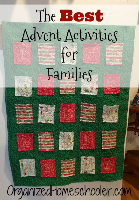 Best Advent activities for families. I think the travel advent calendar is genius!