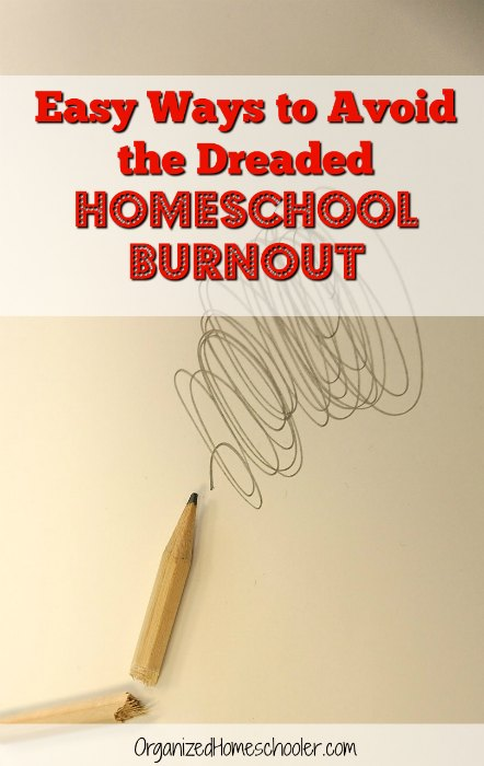 These are great tips to avoid homeschool burnout. I particularly like the second idea!