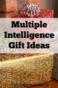 Multiple Intelligence Gifts are perfect for kids. These educational gifts support the whole child. #giftguide