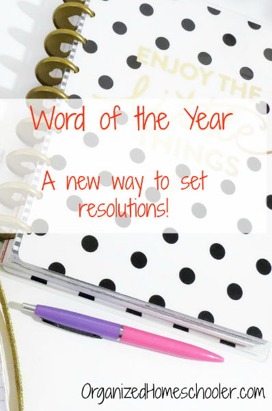 Choosing a word of the year is a great alternative to resolutions. It is so much more effective!