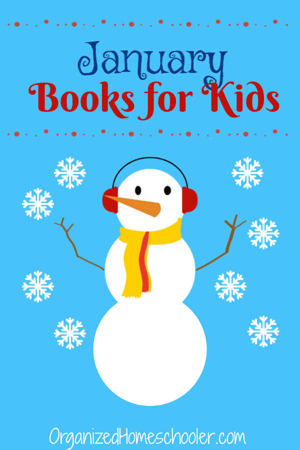 These January books for kids cover all of the main January topics - snow, Chinese New Year, Martin Luther King Jr Day, and winter sports. They are a great addition to a winter unit study.