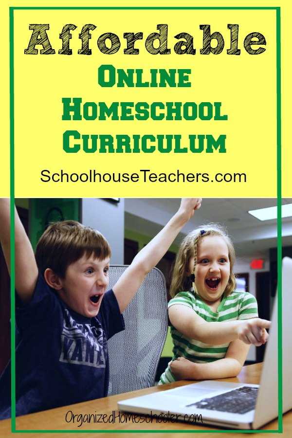 SchoolhouseTeachers.com offers a complete online homeschool curriculum from preschool - high school. This customizable curriculum is completely self paced. There is even help for parents - high school transcripts, meal plans, and attendance tracking!