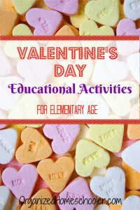 These fun Valentine's Day educational activities are perfect addition to our holiday homeschool lesson plans.
