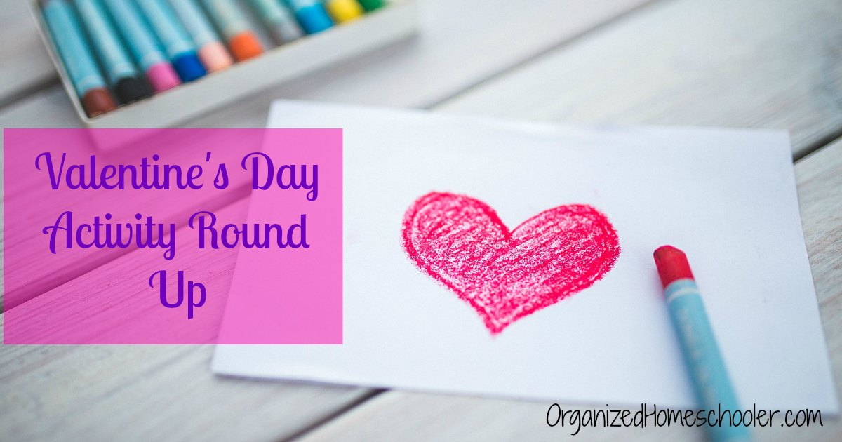 This Valentine's Day roundup is full of great homeschool Valentine's Day activities!