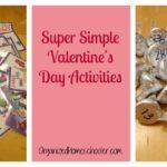 Super Simple Valentine's Day Math Activities