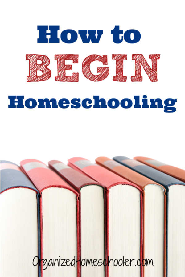 Considering homeschooling? Use this step by step guide to find out how to start homeschooling! Begin homeschooling with everything in place.