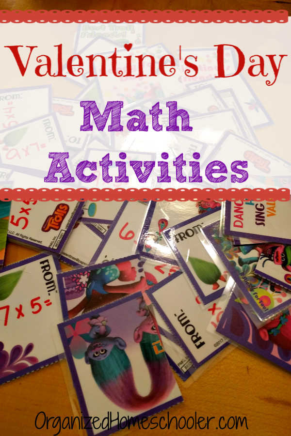 Valentine's Day math lessons are easy and fun with these easy games. The activities are adaptable to any grade preschool - high school!