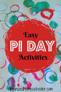 These Pi Day activities are perfect to add to your lesson plans. Pi Day is practically the homeschool holiday! These ideas are great for elementary kids.