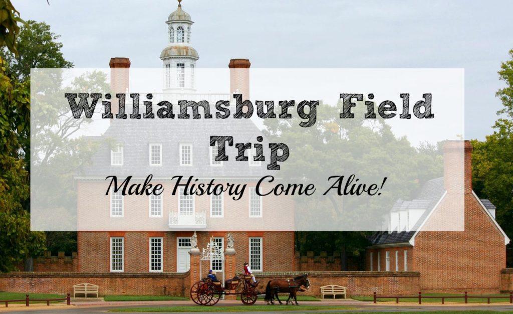 Williamsburg is a homeschoolers dream field trip!