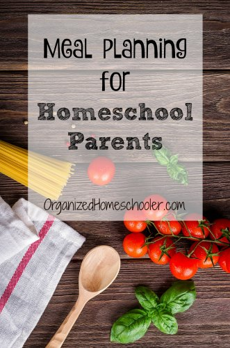 Meal planning helps homeschool parents get meals on the table quickly. Busy families can use these meal planning strategies to always have healthy meals ready and avoid the drive through.