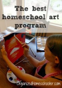 Creating A Masterpiece is my favorite online art curriculum! It replaced our homeschool art class!