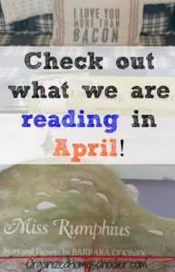 "This book basket is the perfect answer to the question, ""What do I read this April?"""