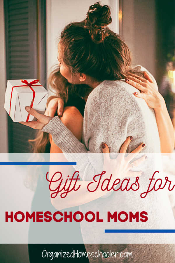 Check out these practical and sentimental Mother's Day gifts for Homeschool moms. These gift ideas are meaningful and useful.