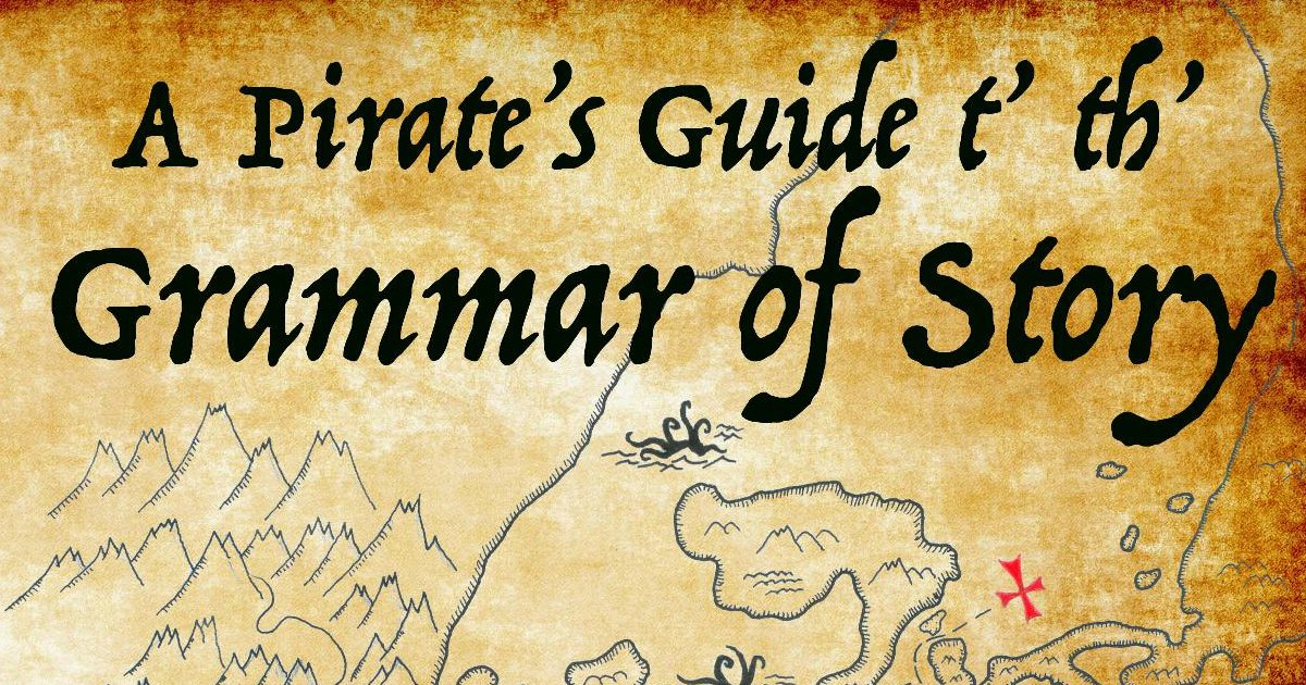 A Pirate's Guide t' th' Grammar of Story is an awesome new homeschool writing curriculum.