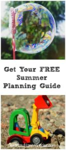 Get your FREE summer planning guide! Check out these ideas for easy summer fun.