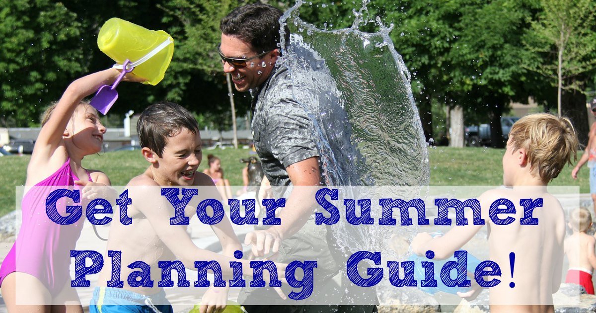 Get your summer planning guide! Check out these easy summer fun activities.