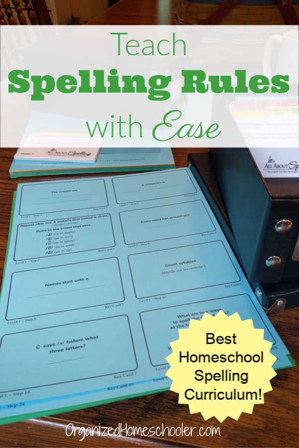This is the best homeschool spelling curriculum! The All About Spelling curriculum helped my struggling spellers. Spelling is an essential part of any elementary language arts curriculum. The orton gillingham approach is so helpful for beginning or struggling spellers. #homeschool #curriculum #AllAboutSpelling