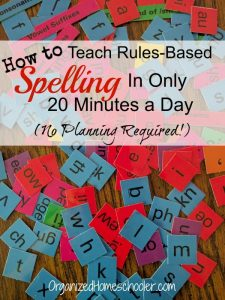 This is the best homeschool spelling curriculum! All About Spelling helped my struggling spellers.