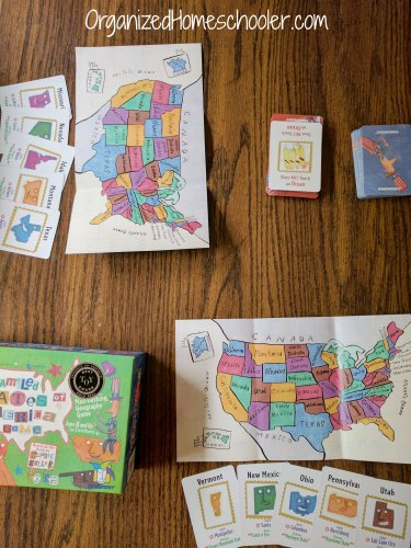 This USA geography homeschool curriculum is fun and educational.
