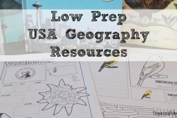 This USA Activity Bundle is a great elementary geography resource. Just print and use!