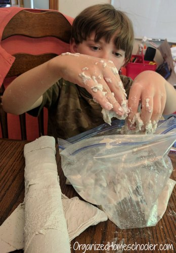 Rigid Wrap and CelluClay create the easiest paper mache ever! It would be great for kid friendly craft projects. science fair dioramas, or hands on history projects.