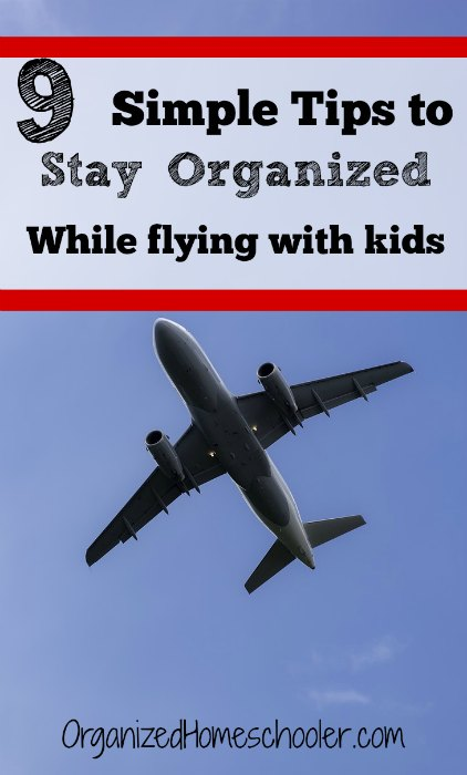 These 9 simple tips for flying with children will make your next flight go smoothly.