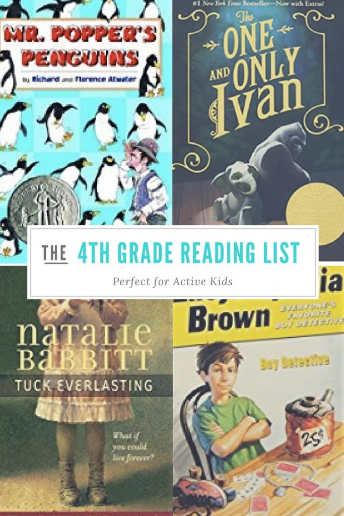 This 4th grade reading list is full of funny and engaging books. It will help kids love reading.