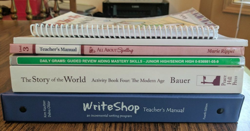 7th Grade Curriculum Choices The Organized Homeschooler