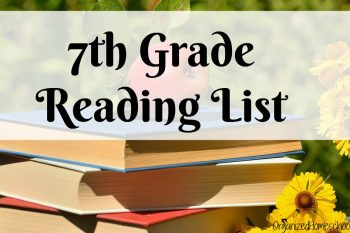 This 7th grade reading list is perfect for middle school students. These are such good books.