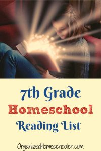 This 7th grade reading list was carefully crafted for middle school students. There is a mix of genres to keep boys and girls interested.