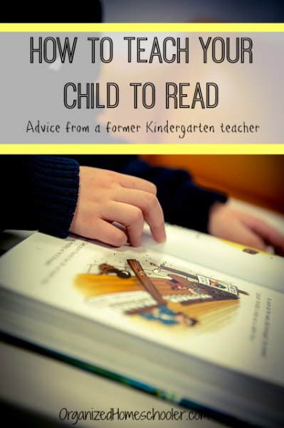 Parents, see strategies on how to teach your child to read from a former kindergarten teacher.