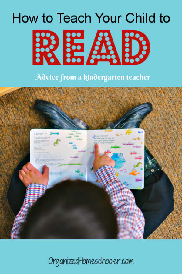 Find advice on how to teach your child to read from a kindergarten teacher. These tips even work with struggling readers.