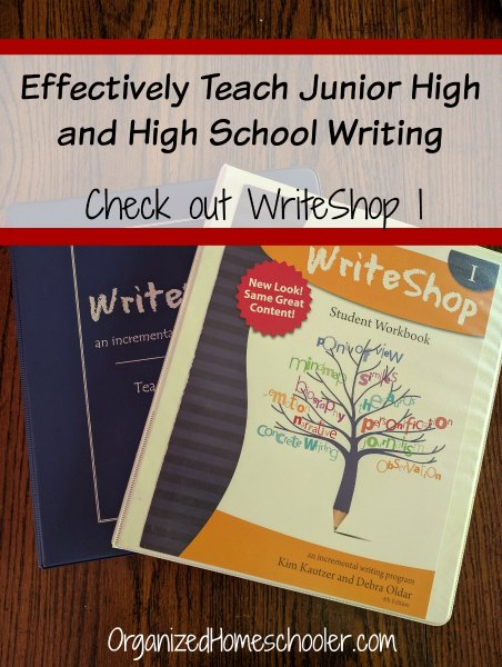 WriteShop I is a homeschool writing curriculum that teaches writing in a logical manner. Check out why I chose WriteShop.