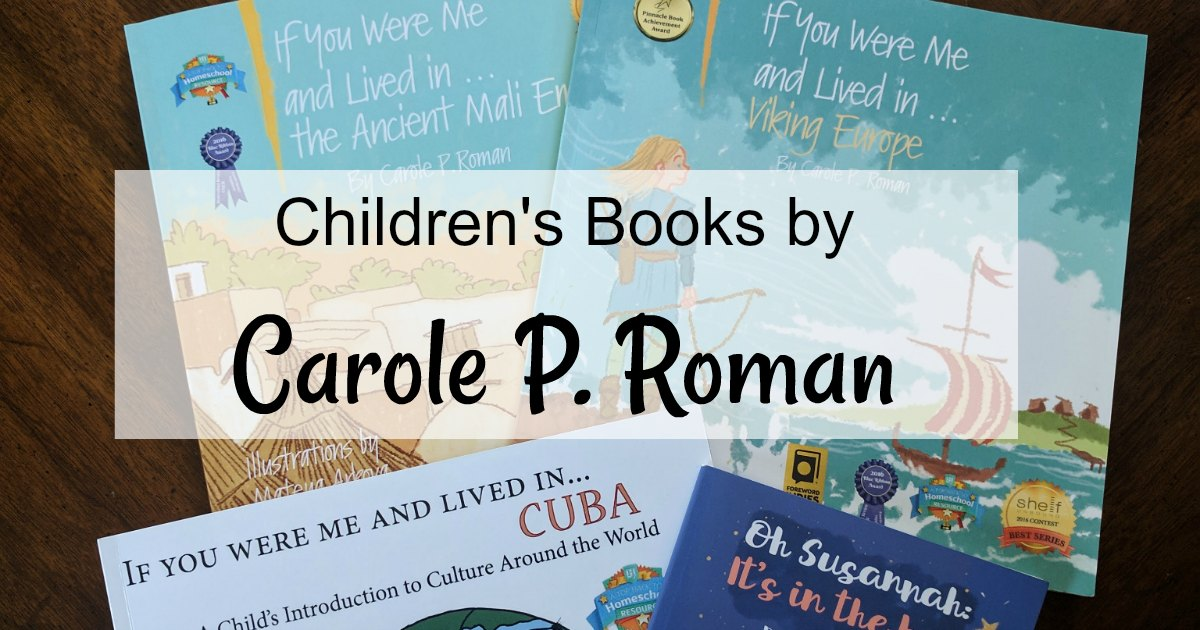 These children's history books by Carole P. Roman are excellent living history books. #historystorybooks