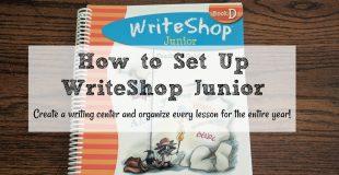 How to Set Up WriteShop Junior