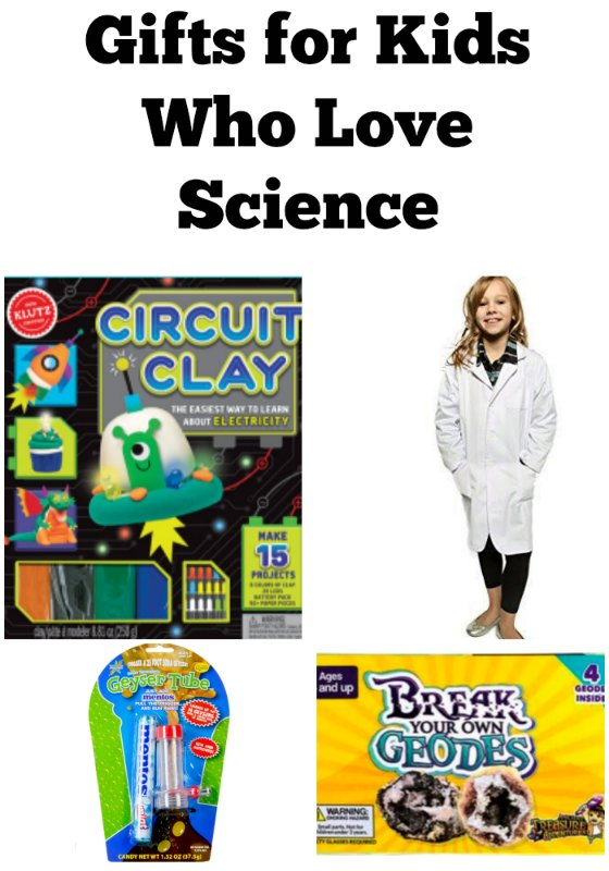 These gifts for kids who love science are awesome. They are sure to make kids happy. #sciencegifts #giftgivingguide